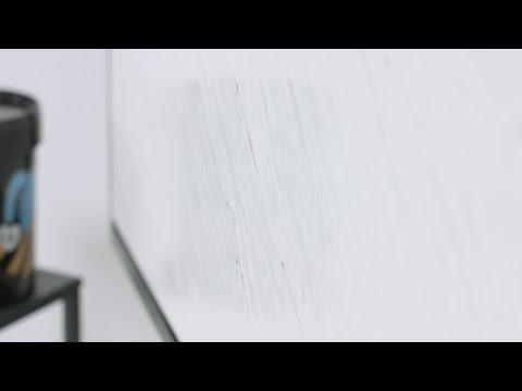 Marmorino Veneziano con lavorazione a onde - Calce Veneziana #10
