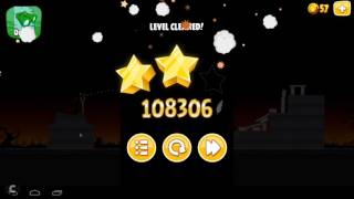 Angry Birds Seasons Trick or Treat Level 1 8  120720