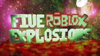 5 esplosioni di ROBLOX