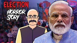 Lok Sabha Elections 2019 Horror Story In Hindi | BJP | Khooni Monday E33 🔥🔥🔥