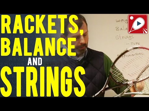 Rackets, Balance and Strings, plus a Self-coaching idea, also an outtake.