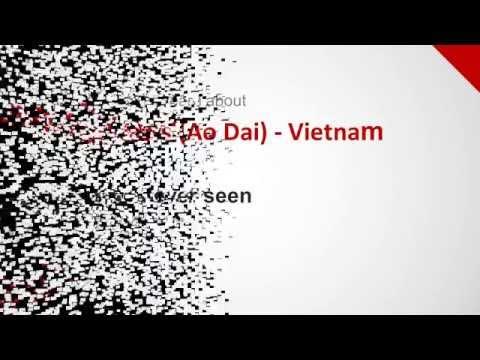 Long Dress (Ao Dai) - Vietnam