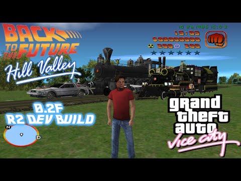 BIRTHDAY STREAM! THE Best GTA Vice City MOD Returns.... BTTF Hill Valley 0.2f R2 Dev Build MOD