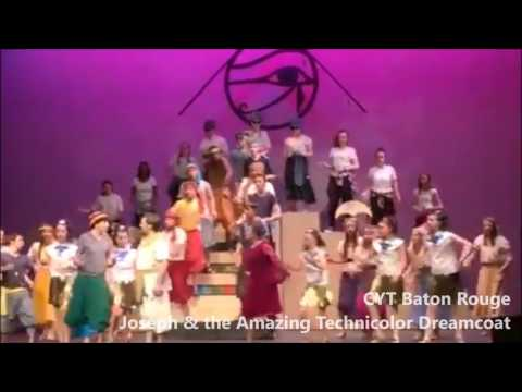 CYT Baton Rouge Joseph and the Amazing Technicolor Dreamcoat