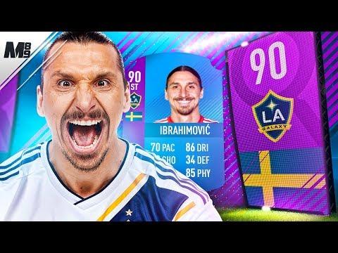 FIFA 18 SBC IBRAHIMOVIC REVIEW | 90 SBC IBRAHIMOVIC PLAYER REVIEW | FIFA 18 ULTIMATE TEAM
