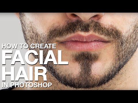 create facial hair