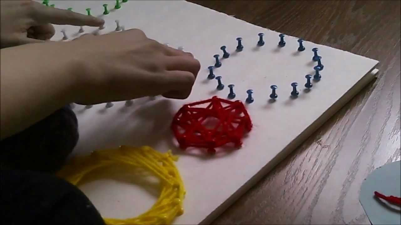 Diy String Art The Cheap Way Youtube