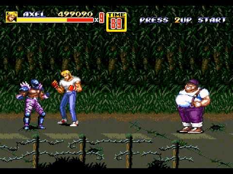 Streets Of Rage 2 Longplay (Mega Drive/Genesis) [60 FPS]