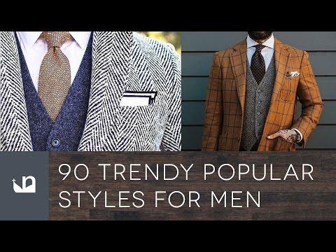 90 Trendy Popular Men's Fashion Styles