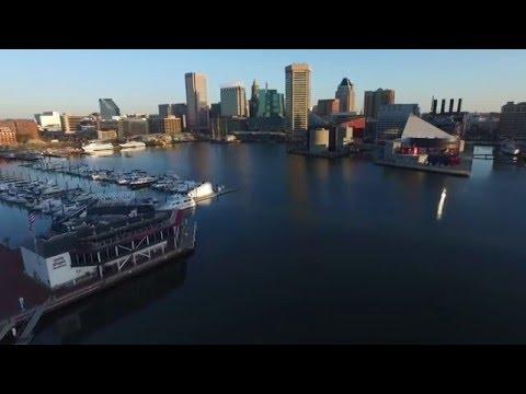 P3 Advanced - Morning @ Baltimore's Inner Harbor
