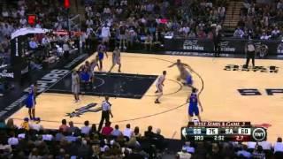 NBA CIRCLE - Golden States Warriors Vs San Antonio Spurs Game 2 Highlights - 8 May 2013 NBA Playoffs
