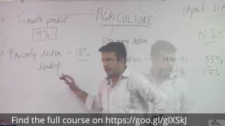 2. Agriculture - Economics, General Studies, SSC, Pioneer Academy