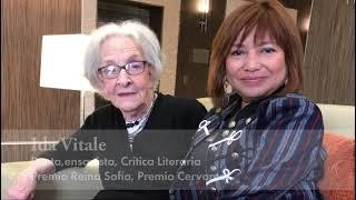 Ida Vitale y Elizabeth Quila