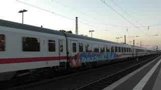 DB IC2273 at Bensheim, Germany, Oct/2018 ドイツ鉄道IC2273ベンスハイム駅