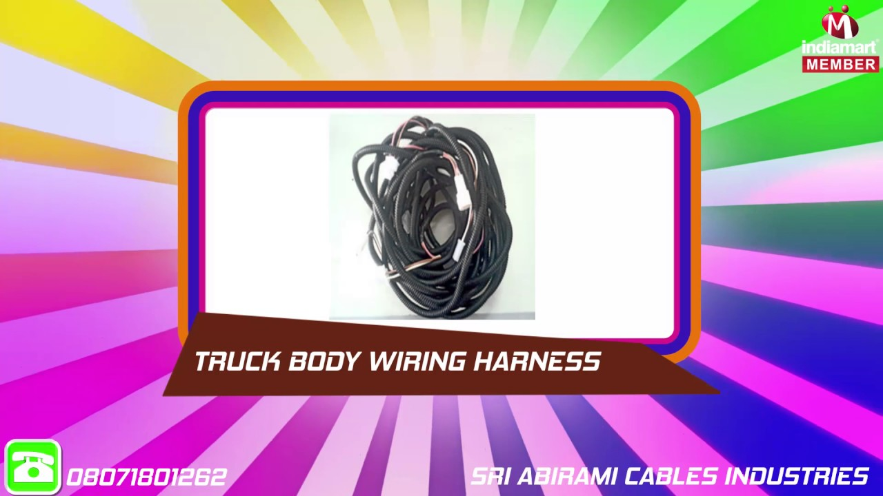 maxresdefault electrical component & wiring harness by sri abirami cables