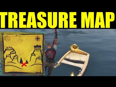 Tomato Town Treasure Map Fortnite Season 4, Week 1 Challenge Map Location