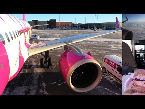 TRIP REPORT | WOW Air A320NEO Copenhagen to Keflavik (Reykjavik)| WOW XXL