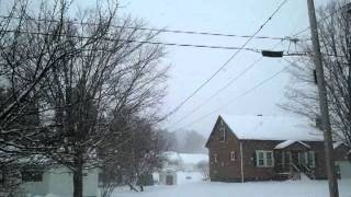 Strange sounds in Presque Isle.ME