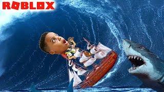 EU NÃO POSSO NADAR! -Construa um barco para encontrar Treasure-Roblox Playonyx