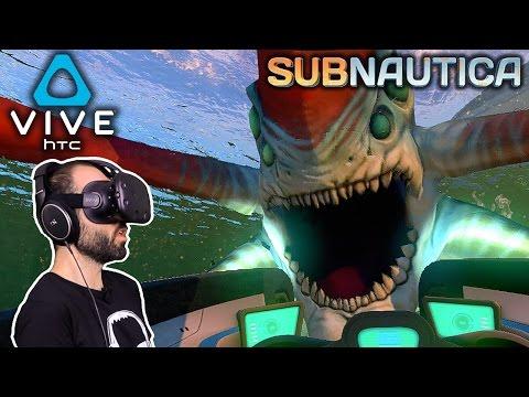 SUBNAUTICA + REALIDAD VIRTUAL, BRUTAL! | SUBNAUTICA Gameplay Español