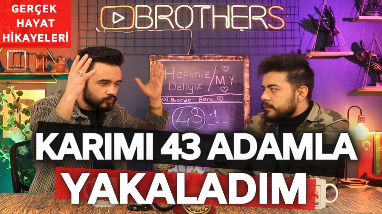 KARIMI 43 FARKLI ADAMLA YAKALADIM !! GERÇEK HAYAT HİKAYELERİ