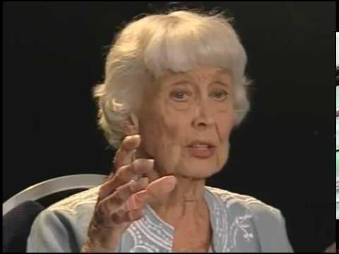Betty Garrett-- Rare 2007 TV Interview