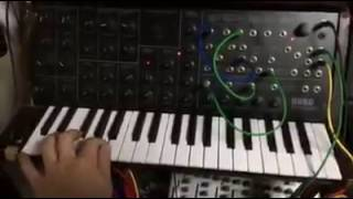 Symphonic Pizzcato Bass on MS-20