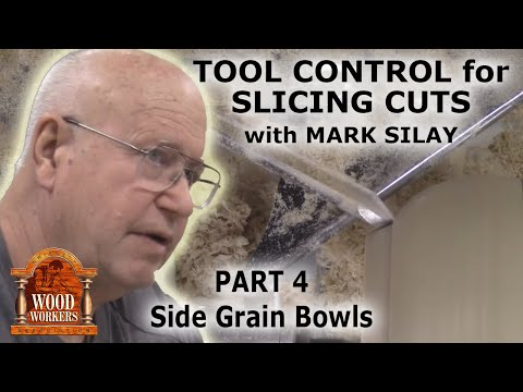 Mark Silay on Wood Slicing (part4-side grain bowls)