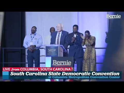 Bernie Speaks at the South Carolina Democratic Convention