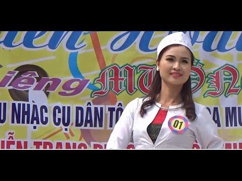 Trình diễn trang phục dân tộc Mường và dân ca  Mường năm 2016