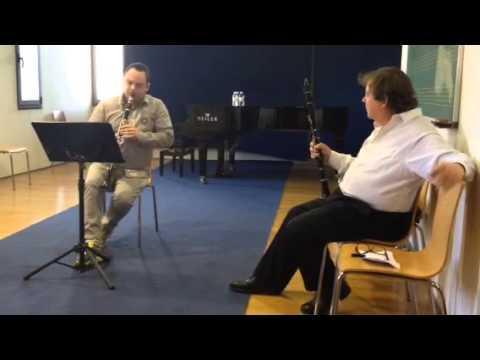 Andrew Marriner En La Escuela De Altos Estudios Musicales D