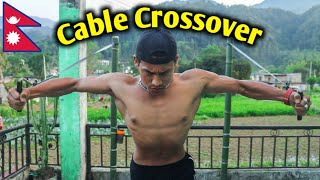 Homemade Cable CrossOver  | Homemade Gym Equipment | Anish Fitness