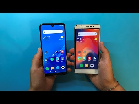 Redmi 7 Vs Redmi Note 3 Pro - Speed Test!