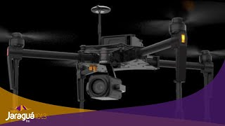 Super drone é entregue para Polícia Militar