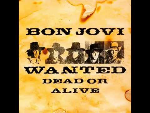 Bon Jovi - Wanted Dead or Alive (Guitar Track) - YouTube