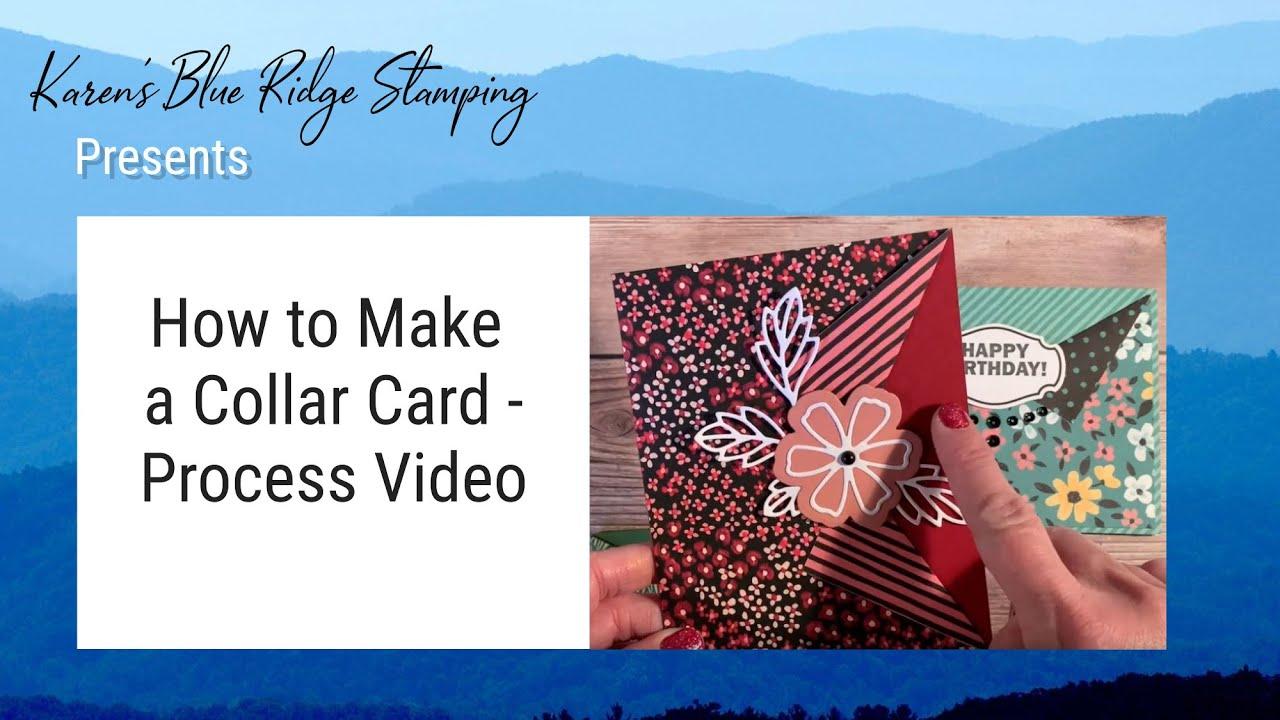 Making a Collar Card