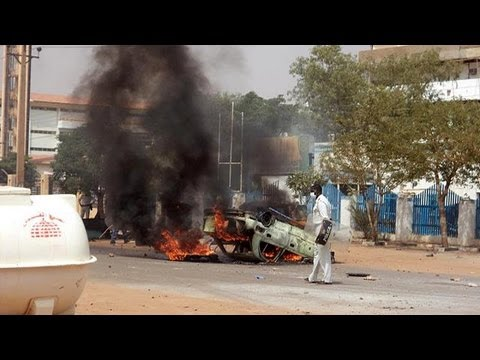 Sudan capital ignites in anti-government protest