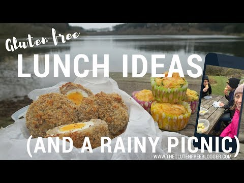 IT RAINED ON OUR GLUTEN FREE PICNIC | Gluten Free Lunch Ideas