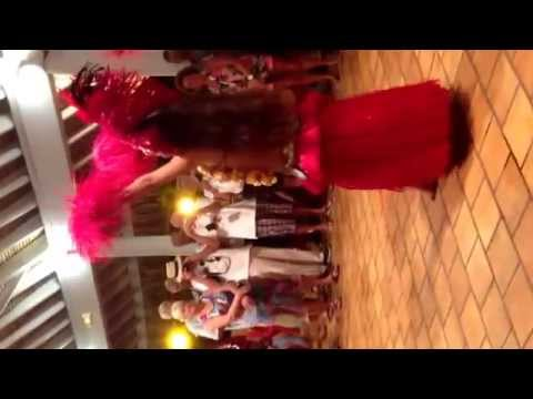 Papeete, Tahiti. Dance group video 3