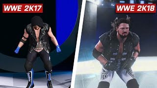 WWE 2K18 Graphics Comparison: Is It Worse? (PS4 & Xbox One)