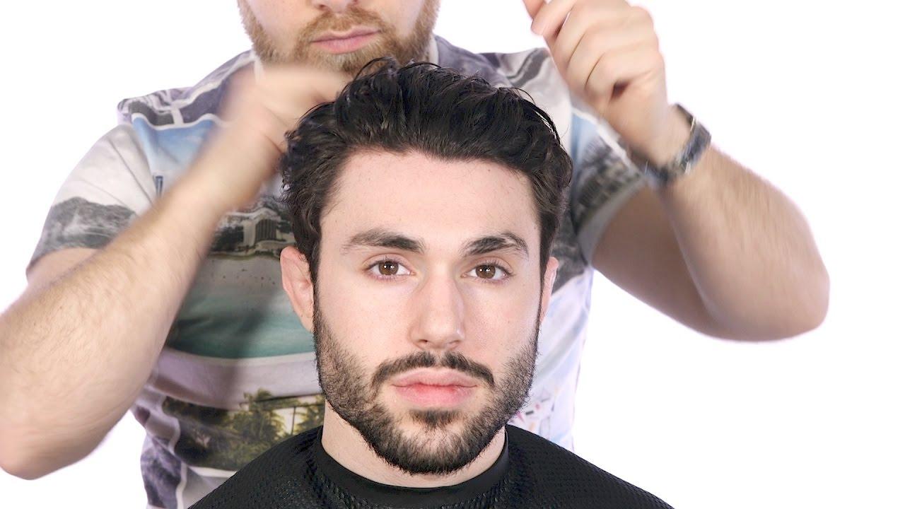 Male Model Haircut Thesalonguy Youtube