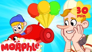 Race Car Morphle - Summer Ice Cream | Mila and Morphle | Cartoons for Kids | Morphle TV