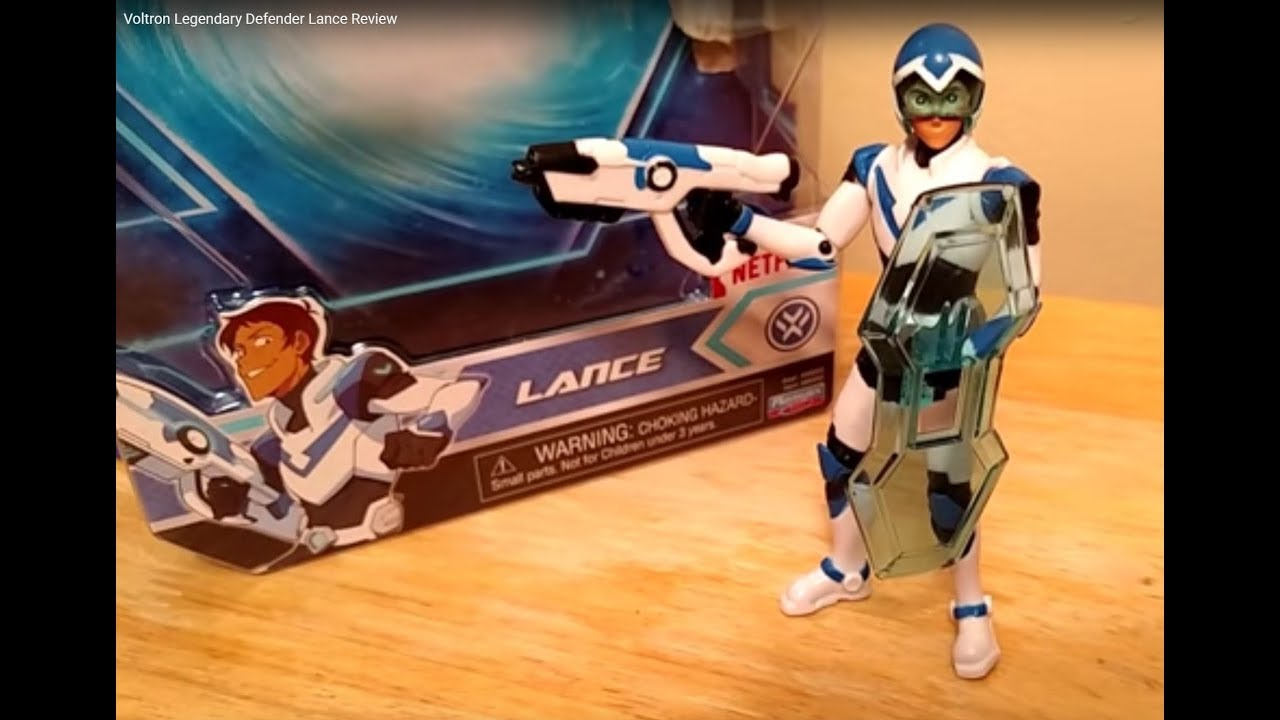 Voltron Legendary Defender Lance Review