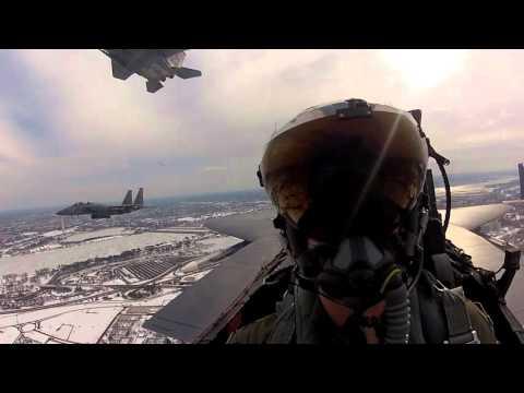 335th FS - Arlington National Cemetery flyover