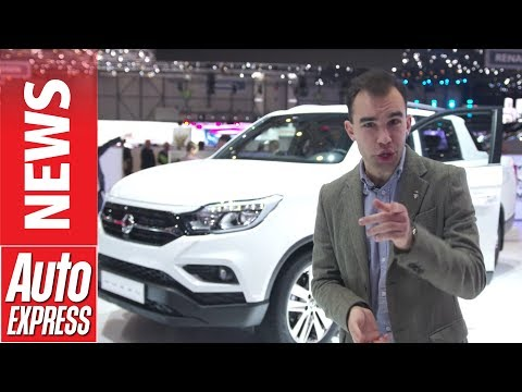 New SsangYong Musso pick-up - Korean truck keeps it real at Geneva 2018