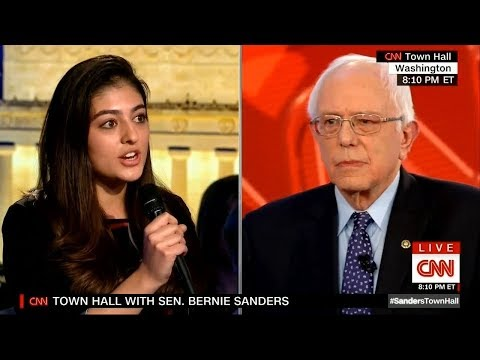 Bernie Given Smear Question By Democratic Party Operative