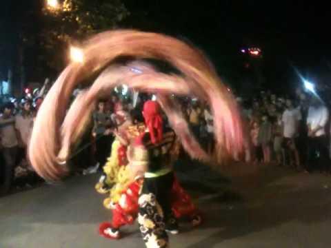 Đoàn lân sư rồng Bạch Ngọc Đường _ Huế ( 0909309446 )  . Múa Rồng Trung Thu 2012