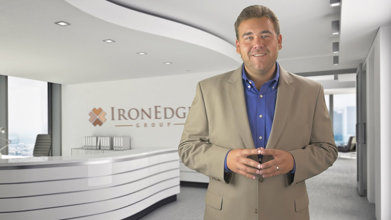 Website Welcome Talking Head Video Example - IronEdge Group