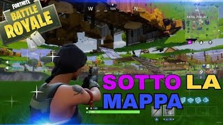 Fortnite Glitch unter Karte