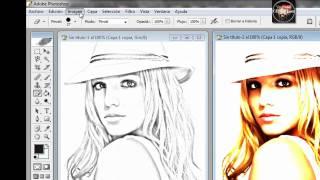 Hacer efecto de dibujo en photoshop